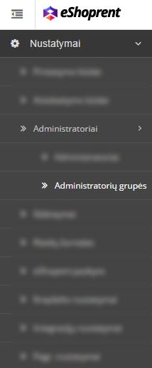 Administratorių grupės