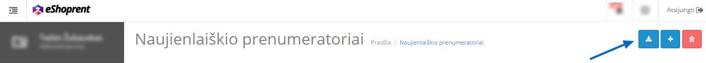 Naujienlaiškio prenumeratoriu sarasas